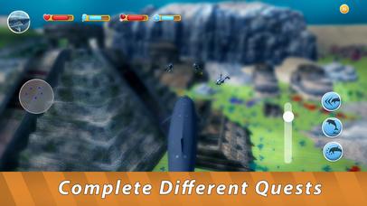 Blue Whale Family Simulator Full screenshot 4