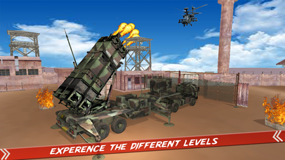 Helicopter Defence Strike - 3d Anti Aircraft Games screenshot 5