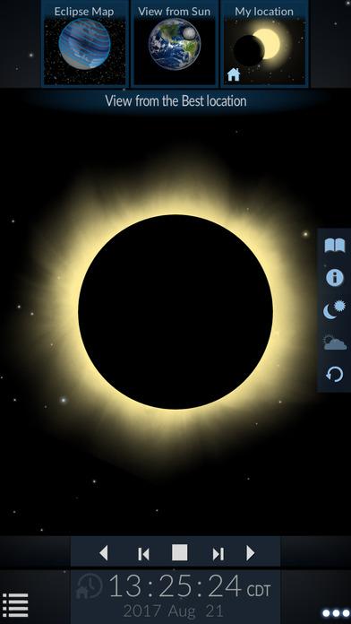 Solar Eclipse by Redshift screenshot 2