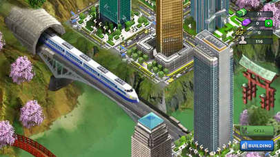 Shinkansen City® screenshot 1