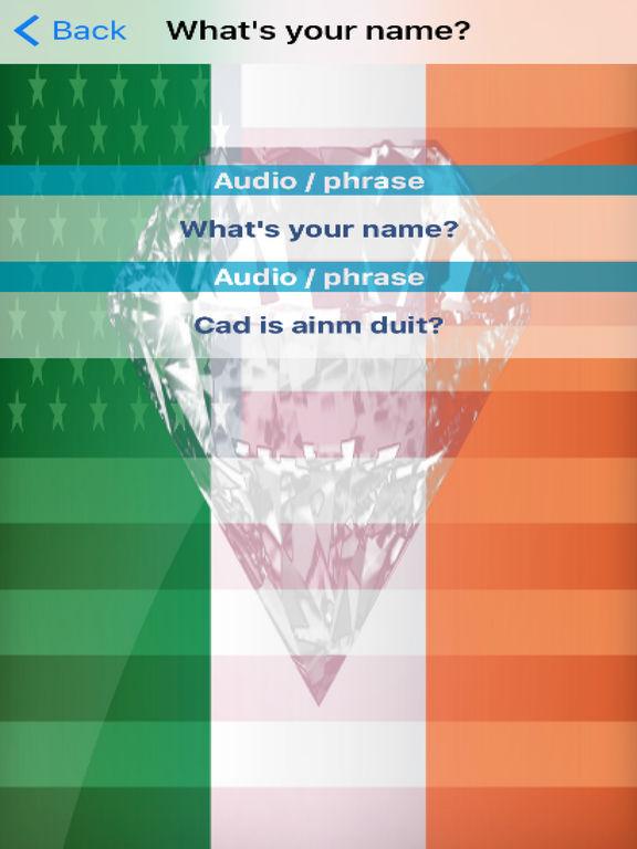 Irish Phrases Diamond 4K Edition screenshot 6