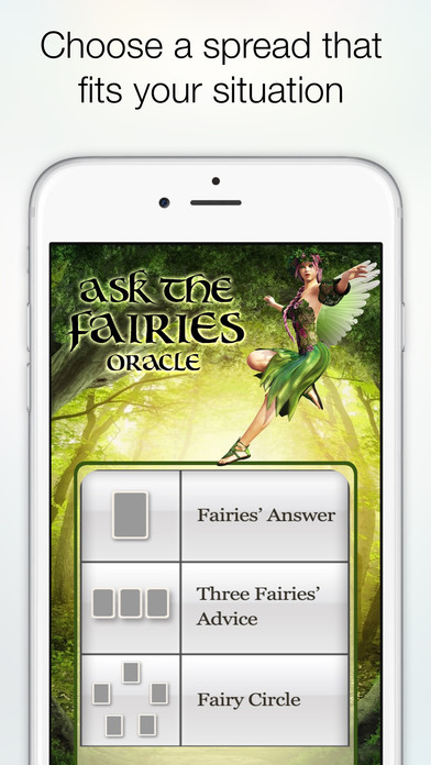 Ask the Fairies Oracle Cards screenshot 4