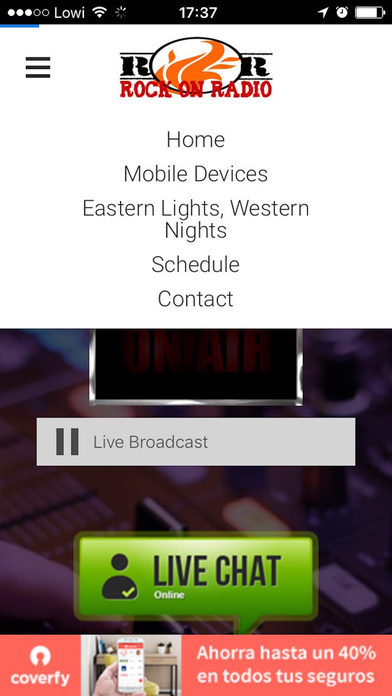 Rock On Radio screenshot 2