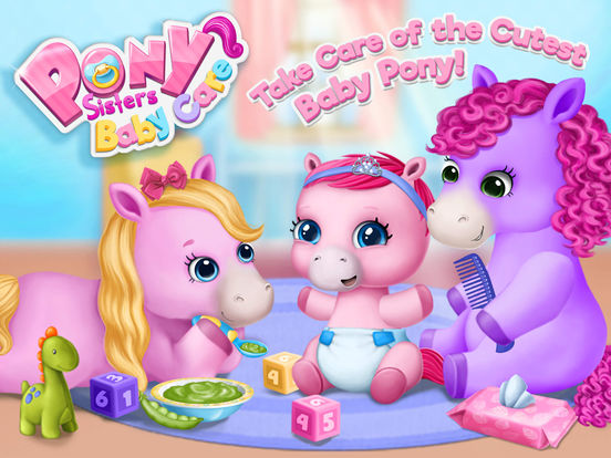 Pony Sisters Baby Horse Care - Babysitter Daycare screenshot 6