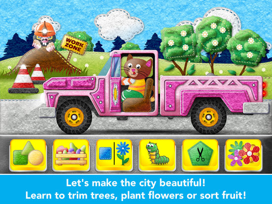 Kids Trucks in Town - Adventure Games for Toddlers screenshot 8