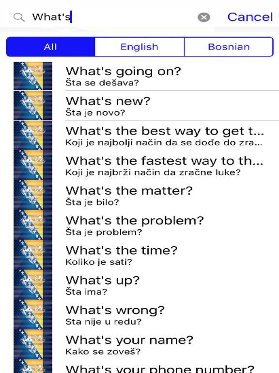 Bosnian Phrases Diamond 4K Edition screenshot 5