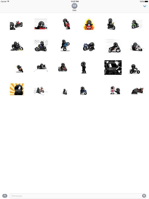 Animated Freeman Rider Stickers screenshot 3