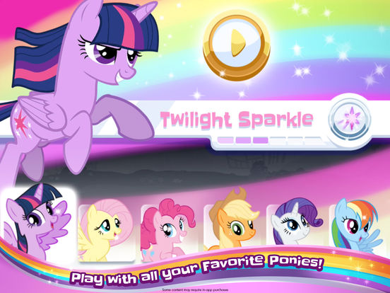 My Little Pony Rainbow Runners screenshot 7