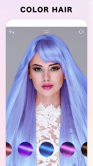 Fabby Look — Hair Color Editor screenshot 1