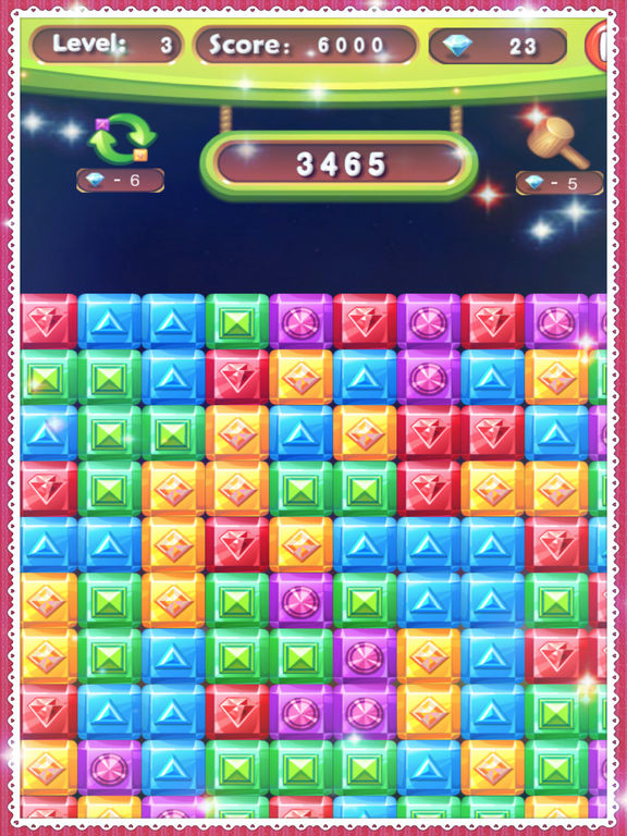 Diamond Crush Games World 2017 Puzzle screenshot 8