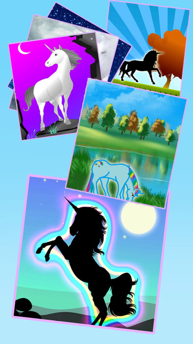 Unicorn Wallpaper Maker – Add your own text! screenshot 1