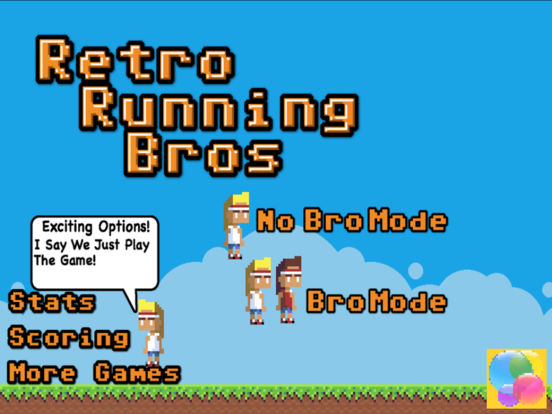 Retro Running Brothers screenshot 6
