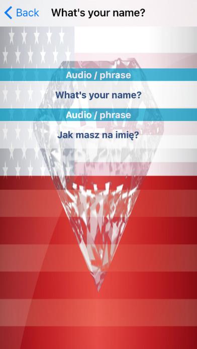 Polish Phrases Diamond 4K Edition screenshot 3