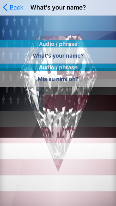 Estonian Phrases Diamond 4K Edition screenshot 3