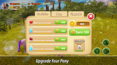Pony Family Simulator Full screenshot 4