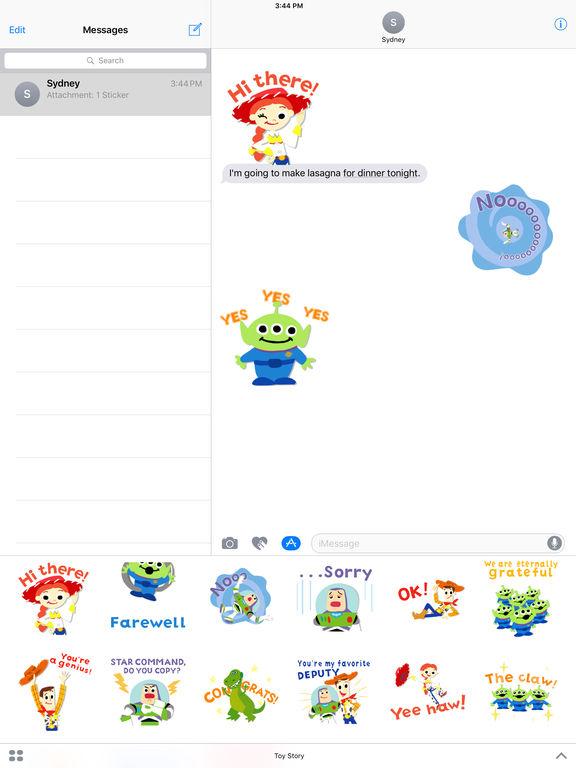 Pixar Stickers: Toy Story screenshot 7