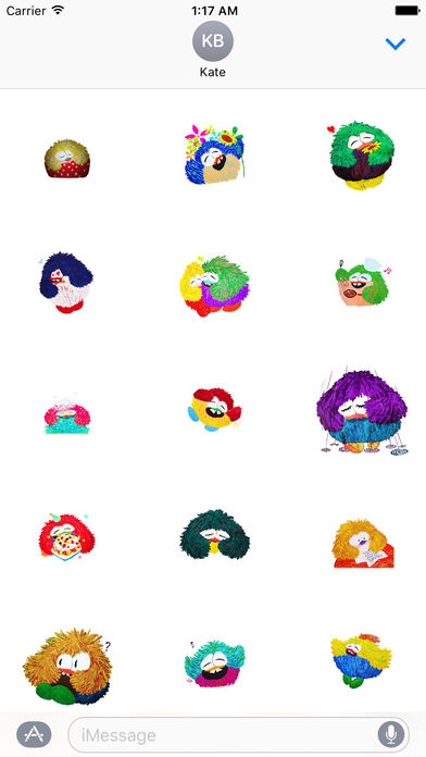 Animated Watercolor Fat Owl Stickers screenshot 1