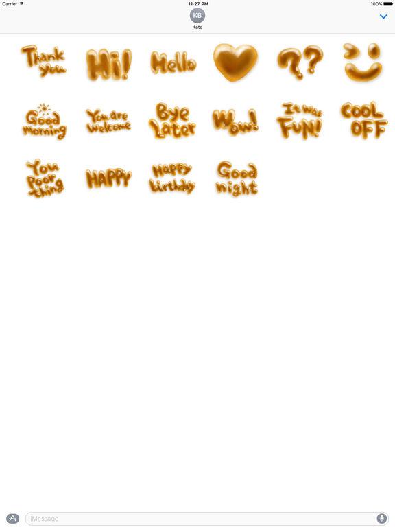 Bread Character Sticker screenshot 3