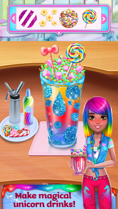 Unicorn Food Style Maker screenshot 3