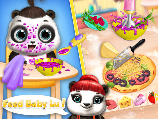 Panda Lu Baby Bear Care 2 - No Ads screenshot 10