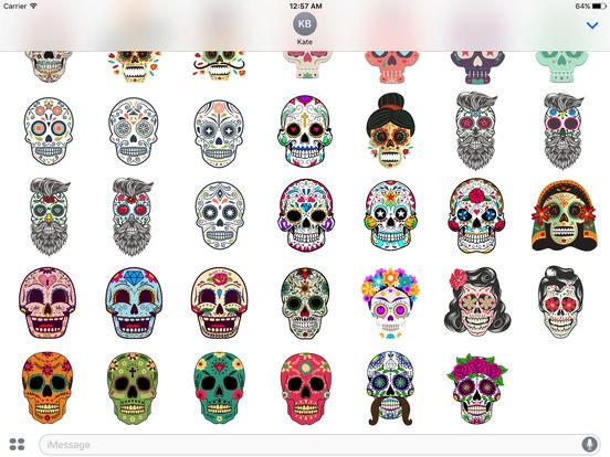 Dias de los Muertos - Colorful Sugar Skulls screenshot 5