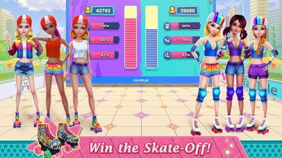 Roller Skating Girls screenshot 4