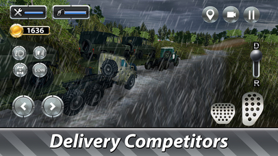Cargo Trucks Offroad Driving Full screenshot 2