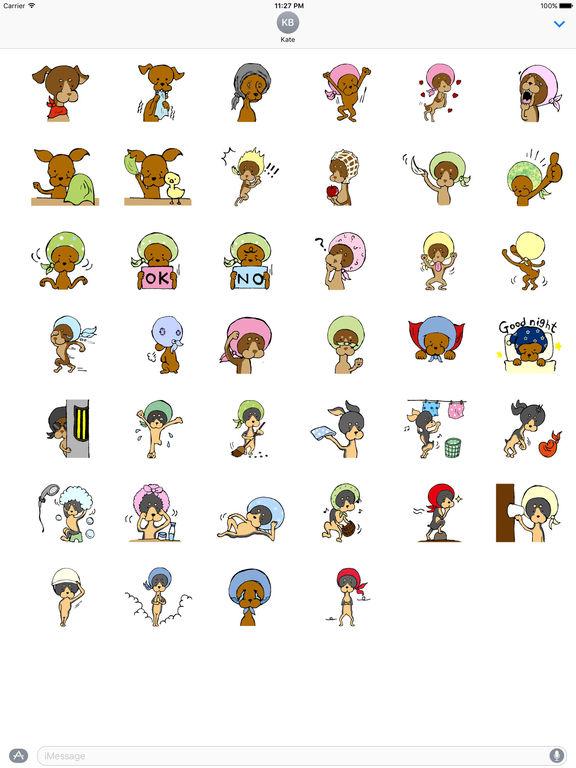Zwergpinscher Dog Sticker Packs screenshot 4