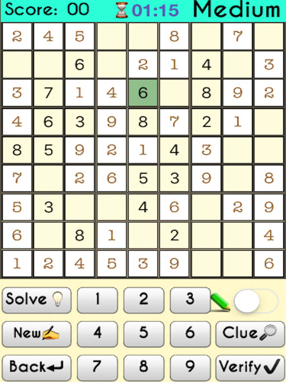 Complete Sudoku Puzzles 2- Full Featured Game screenshot 7