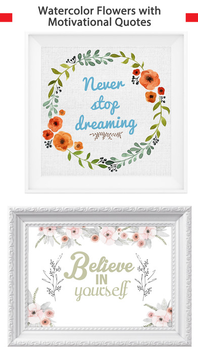 Beautiful & Elegant Motivational Quotes in Frames screenshot 2