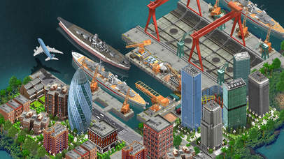 Shipyard City™ screenshot 4