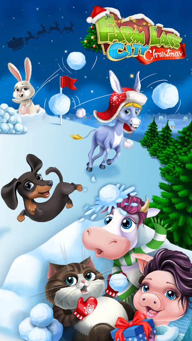 Farm Animals Christmas FULL screenshot 1