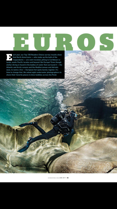 Scuba Diving Magazine screenshot 2