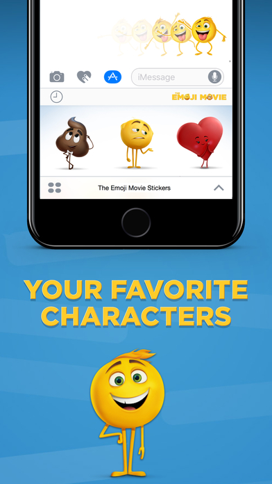 The Emoji Movie Stickers screenshot 3