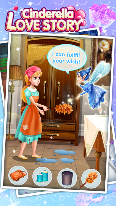 Cinderella Love Story - Fun Games screenshot 3