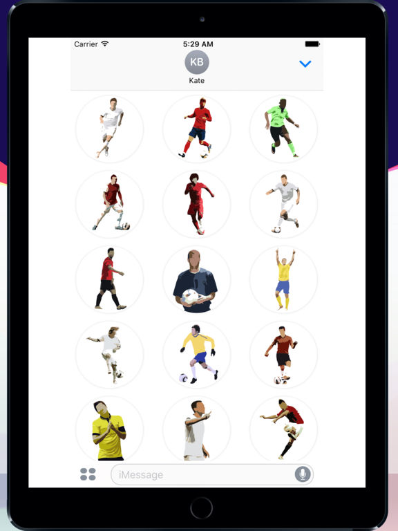 Football Master Sticker Pack screenshot 4