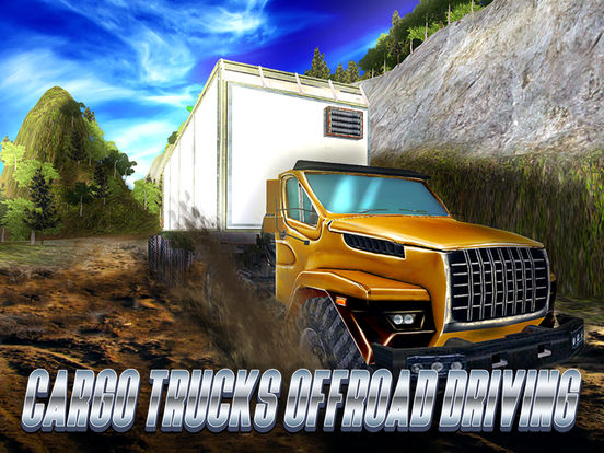 Cargo Trucks Offroad Driving Full screenshot 5