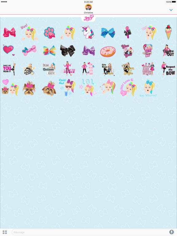JoJo Siwa Stickers screenshot 6