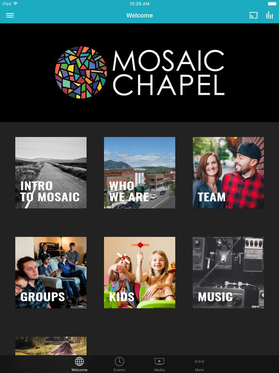 Mosaic Chapel screenshot 4