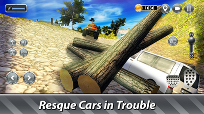 Tow Truck Offroad Driving Full screenshot 3