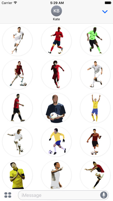 Football Master Sticker Pack screenshot 1