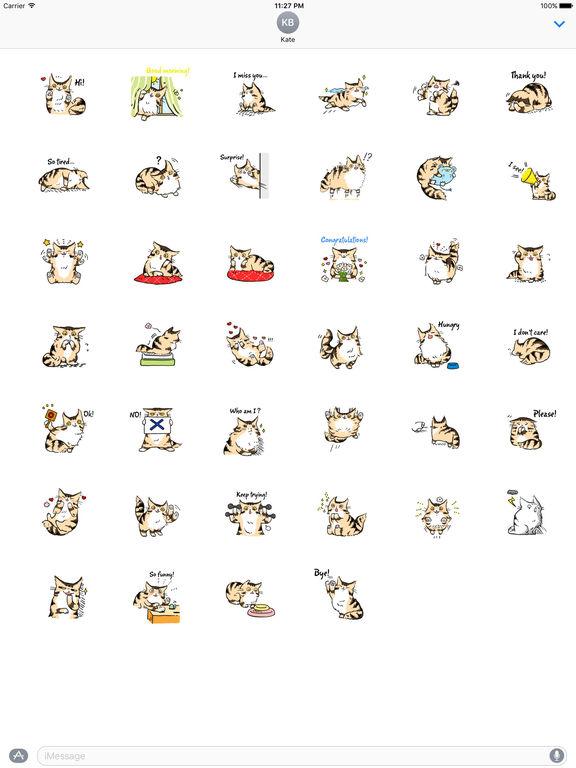 Maine Coon Cat - Mainemoji Emoji Sticker screenshot 4