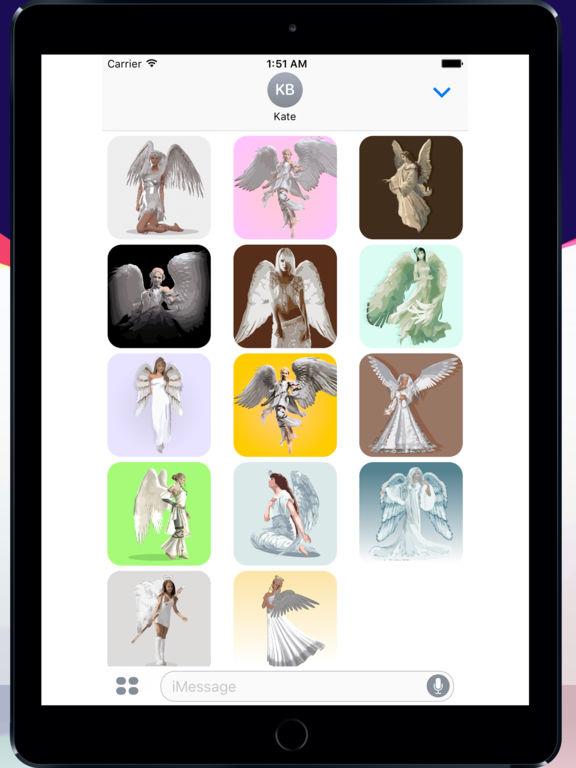 Angels sticker pack screenshot 3