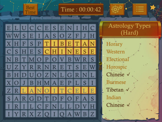 Astrology Word Finder screenshot 6