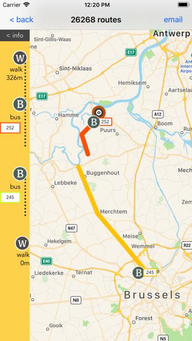 Flanders Transport Guide screenshot 4