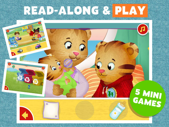 Daniel Tiger's Storybooks screenshot 8