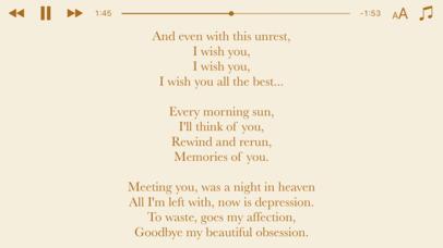 Lyrics View 3 screenshot 3