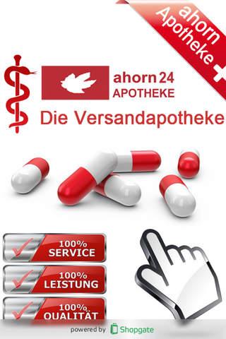 ahorn24 - Die Versandapotheke - náhled