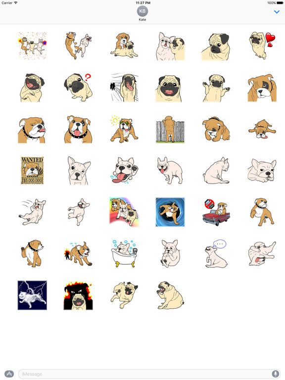 Puppy Bro Sticker screenshot 4
