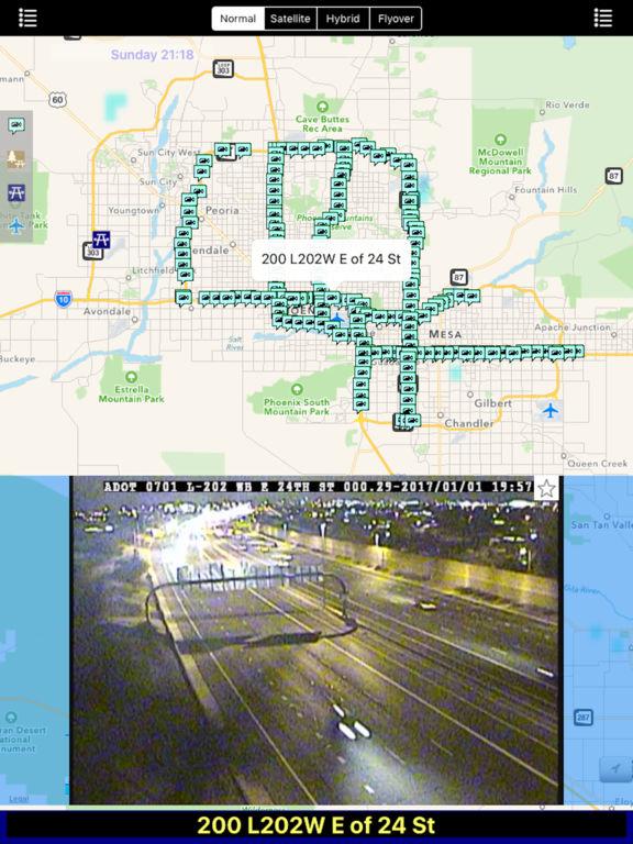 Arizona NOAA Radar with Traffic Camera 3D Pro screenshot 6